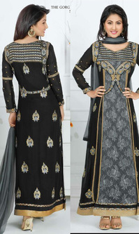 Hina Khan Black Rasal Net Suit (Heerrni 43008)